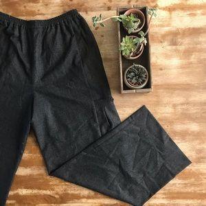 eskandar Charcoal Grey Trouser